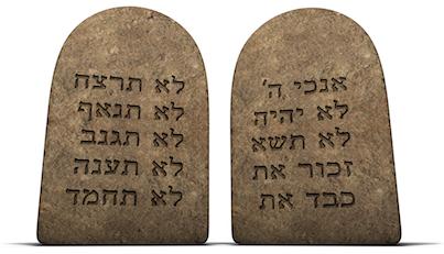 Los Aseret HaDivrot en el Shemá Israel y en Parashat Kedoshim