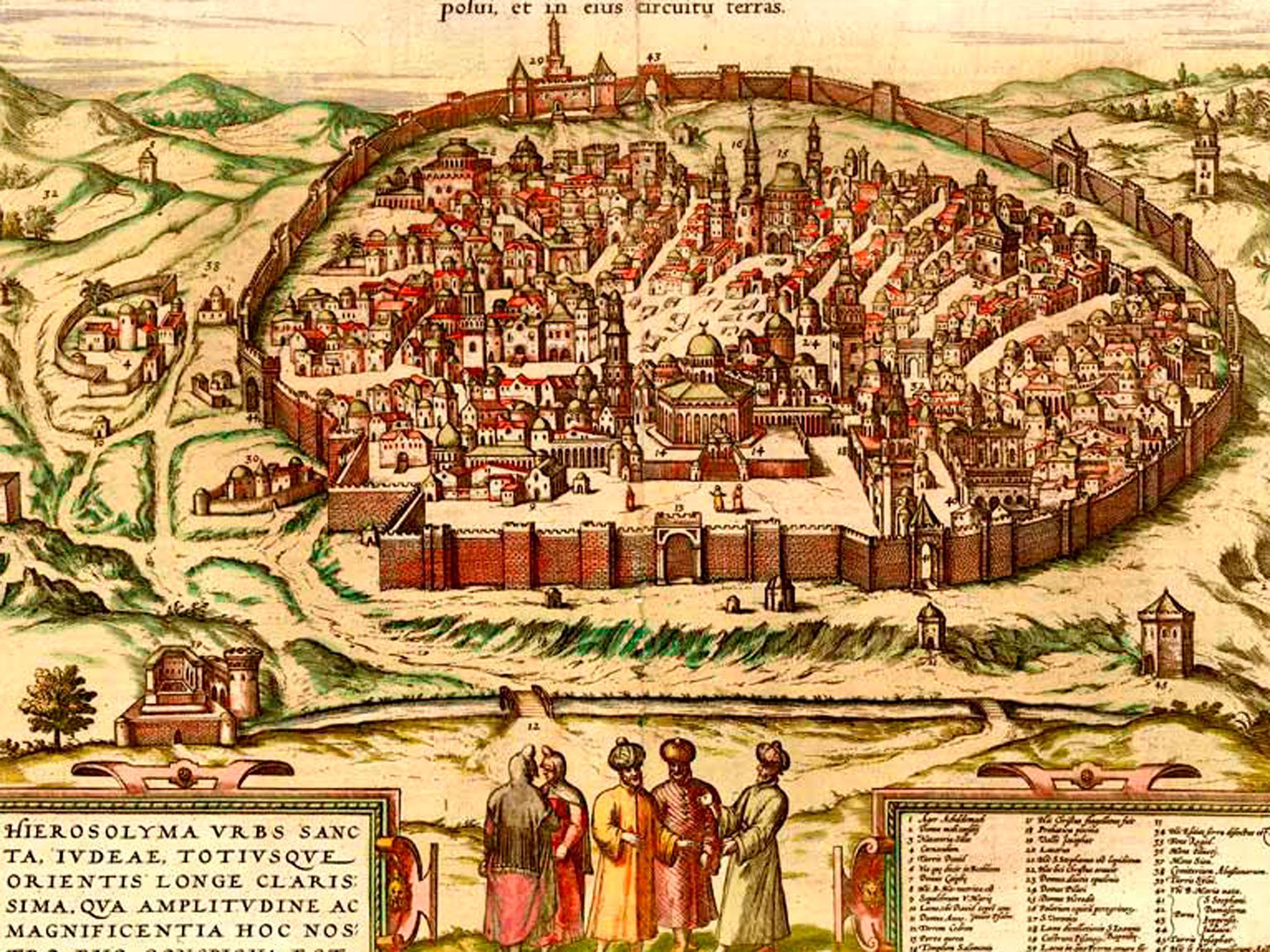 Nos ponemos de pie y miramos hacia…Jerusalem(?)