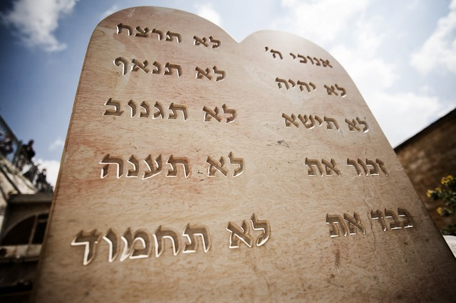 "Parashat Itro – Diez ideas sobre los ""Diez mandamientos"""